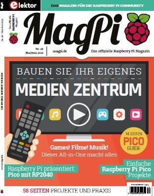 MagPi – Das offizielle Raspberry Pi Magazin